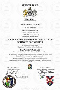 doctor_diplom_St_ Patrick_s_College_2