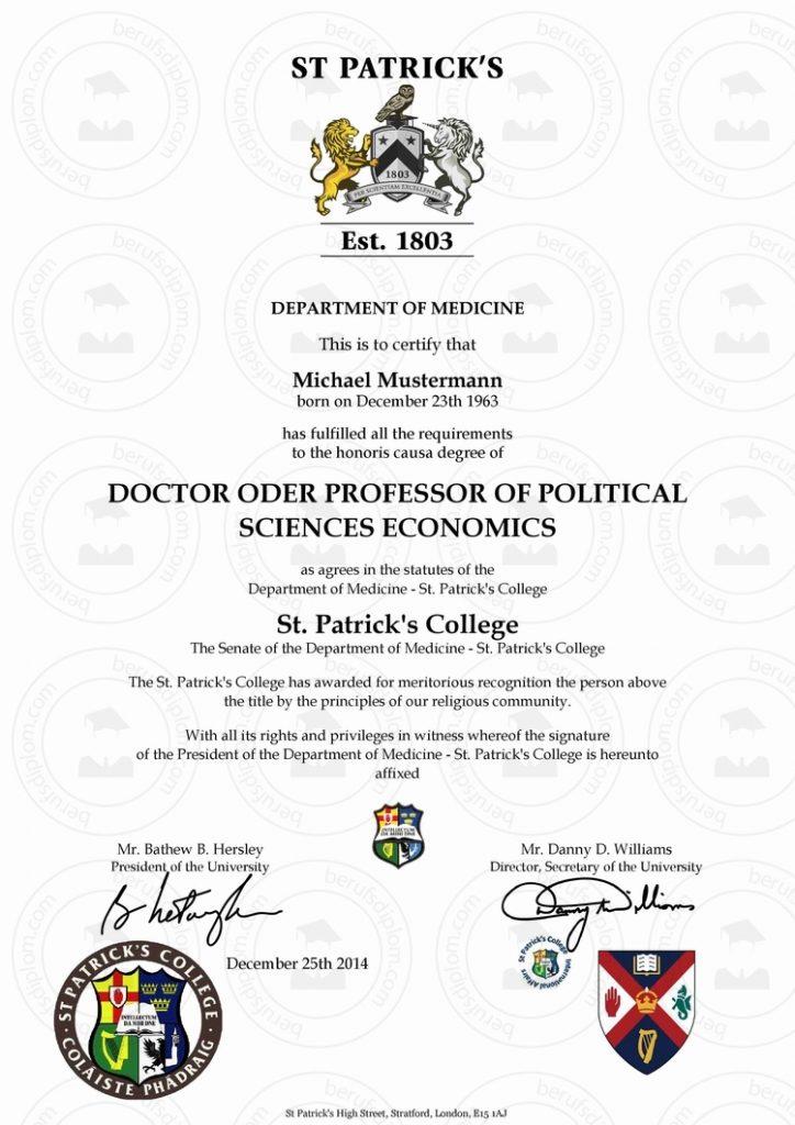 Doktortitel / Diplom kaufen Harvard   Oxford   Stanford   University