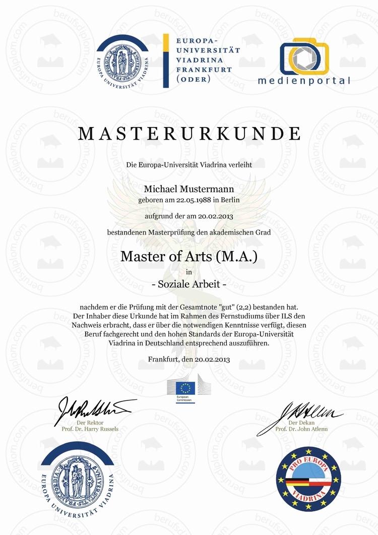 Master MBA online kaufen   Europa-Universität Viadrina